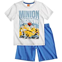 Minions Despicable Me Chicos Pijama mangas cortas 2016 Collection - Azul