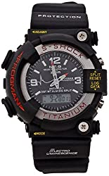 Pappi Boss Digital & Analog Black Dial Sports S-Shock Watch for Boys, Men