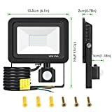 Motion-Sensor-Outdoor-Security-Light-LOFTer-30W-2400lumen-Super-Bright-PIR-Sensor-Flood-Light-IP65-Waterproof-LED-Security-Lighting-Perfect-for-Garden-Backyard-Garage-Doorways-6000K-Cold-White