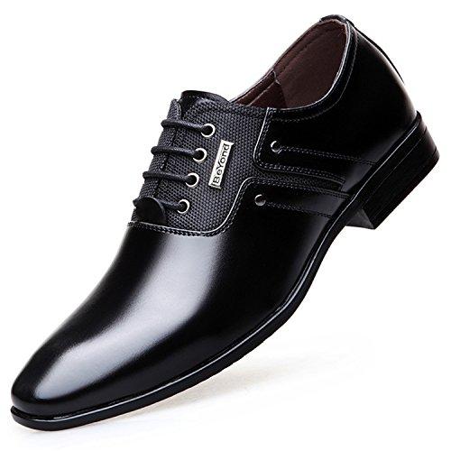 Big Size Men Dress Shoes Quality Men Formal Shoes Lace-up Men Business  Oxford Shoes c98f2681d01