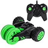 SGILE RC Stunt Car, Rechargeable Remote Control Racing Vehicle Toy 360 Degree Spins