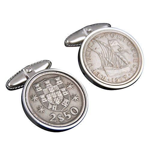 Portogallo Gemelli Escudos coin-perfect regalo