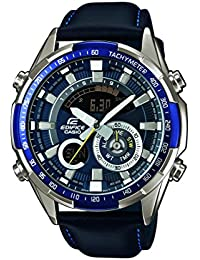 Casio Edifice – Herren-Armbanduhr mit Analog/Digital-Display und Echtlederarmband – ERA-600L-2AVUEF