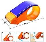 #5: NOVICZ Plastic Packaging Tape Cutter Roll Dispenser