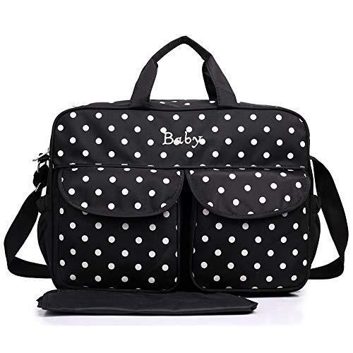 sche - Polka Dot schwarz weiße Punkte, gepunktet ()