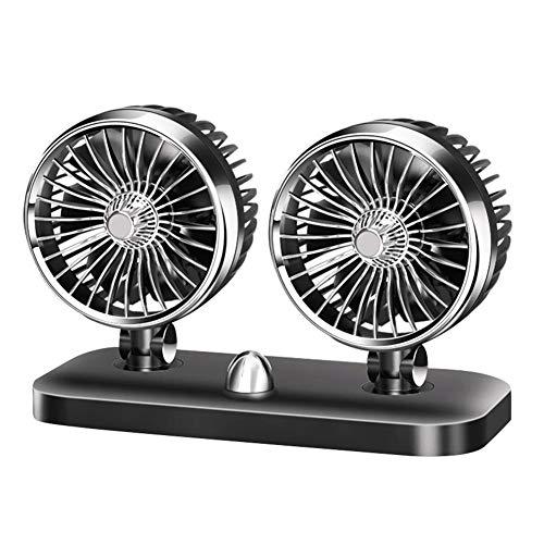 Ventilador Eléctrico Pequeño Ventilador Para Automóvil 12V24v Coche Para Automóvil Refrigeración Empotrable...