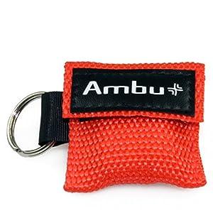 """AMBU""""LifeKey"""" Schlüsselanhänger Beatmungstuch"""