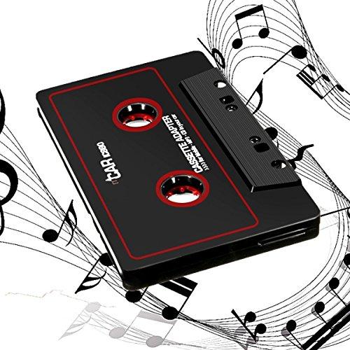 Kassettenadapter KFZ Radio-Adapter Tvird Kassetten mit 3,5 mm Klinkenstecker Car audio cassette adapter für iPod/iPhone/MP3/MP4/Handys/Smartphones/Tablet-PCsr/CD-Player (Cd, Kassette, Ipod-player)