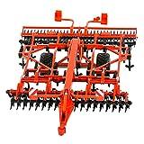 TOMY Britains - Kuhn Anhänger Egge - Bauernhof Spielzeug mit verstellbarer Räder-Deichsel - für Kinder ab 3 Jahre - perfekt zum Spielen und Sammeln