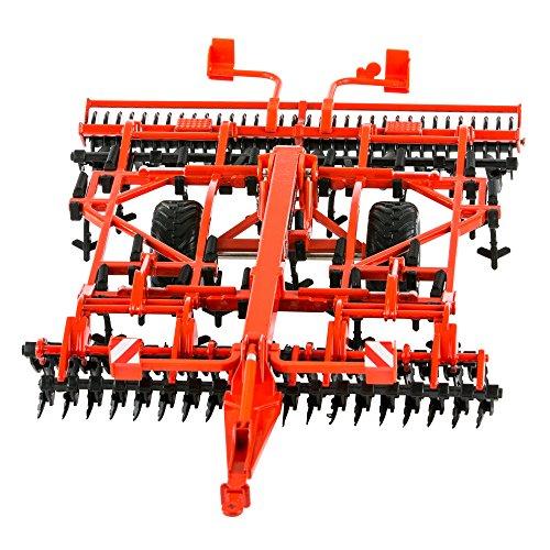 Britains 1:32 Kuhn 5000 Cultivator - Accesorio de Juguete Coleccionable para Granja - Compatible con Todos los vehículos británicos 1:32 - Apto Desde 3 años