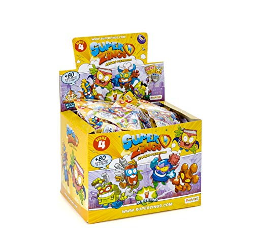Superzings - Serie 4 - Display 50 figuras coleccionables