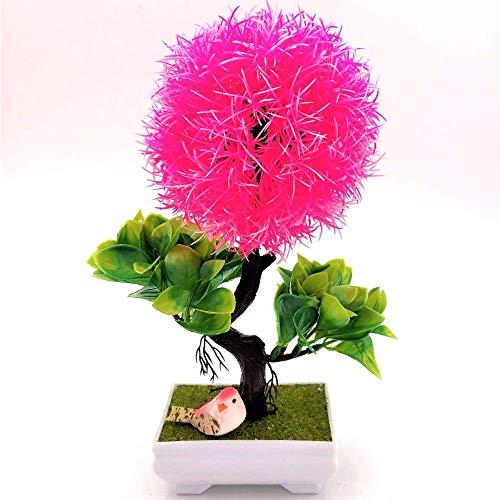 SISHUINIANHUA 1 stück Weihnachtsbaum Hochzeit Bonsai Simulation Künstliche Blumen Gefälschte Topfpflanzen Ornamente Home Office Party Decor