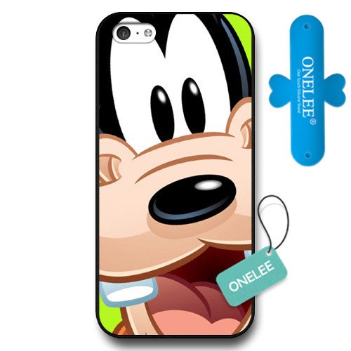Customized Disney A Goofy Movie Black Hard Plastic iPhone 5c Case