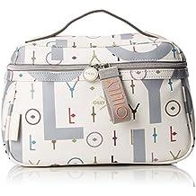Oilily Damen Jolly Letters Washbag Mhz 1 Taschenorganizer, Weiß (Offwhite), 13x17x28 cm