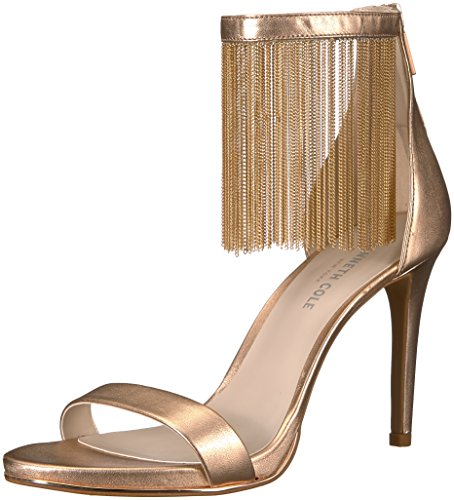 Kenneth Cole Damen Bettina Riemchensandalen, Rose Gold, 38 EU Stiletto High Heel Strappy Sandal