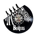 Einzigartige Vintage Design Beatles Vinyl Wanduhr