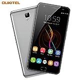 "OUKITEL K6000 Plus - 5,5"" 4G FDD-LTE Smartphone Libres, Sensor de Huella Dactilar, Android 7.0 Octa Core 4GB+64GB, Cámara 16MP+8MP, 6080mAh Carga Rápida, OTG, Doble SIM Teléfono Móvil"