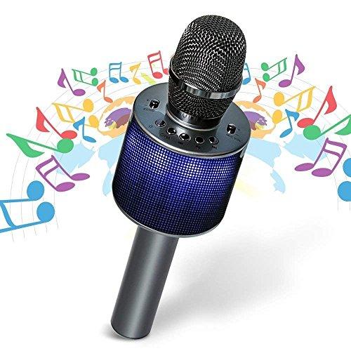 micro sans fil avec haut parleur