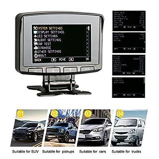 AUTOOL X50 PRO OBD2 Auto-HUD mit Echtzeit-Datenstrom lesen, Scan-Fehlercode, Anzeige der Batteriespannung, Motorladespannungsunterstützung 12V OBDII-Dieselfahrzeuge