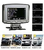 autool x50Pro OBD2Auto HUD mit Lesen Echtzeit-Daten, Stream, Scan & Clear Trouble Code, Display Akku Spannung, Motor Ladekabel Spannungen & Temperatur, Overspeed Alarm, unterstützt 12V Obdii Diesel Fahrzeuge