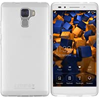 mumbi Schutzhülle Huawei Honor 7 / Honor 7 Premium Hülle transparent weiss