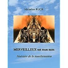 MERVEILLEUX est mon nom: Itéinéraire de la transformation