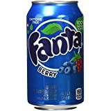 Fanta Berry - Paquete de 12 x 355 ml - Total: 4260 ml