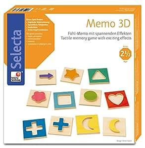 Selecta Spielzeug - Ag - 3537 - Memo 3d