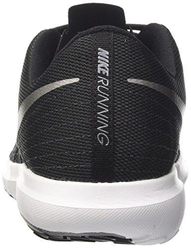 Nike Flex Fury 2, Scarpe da Corsa Uomo Nero (Black/metallic Cool Grey-anthracite-cool Gry)