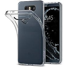 Funda LG G6, Spigen [Liquid Crystal] Silicona Transparente Buena Calidad [Crystal Clear] Premium Transparente / Perfecto adecuado, Carcasa funda para LG G6 - (A21CS21229)