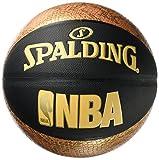 Spalding NBA Snake SZ.7 (76-039Z) Basketball, schwarz/Gold, 7.0