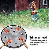 Universal 4 Line Bump Trimmer head Speed Feed String Trimmer Head Gasoline Mower