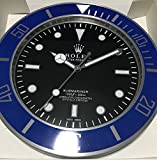 replica Rolex 35 mm de Pared subamariner Abrazadera Azul Metal Movimiento silencioso