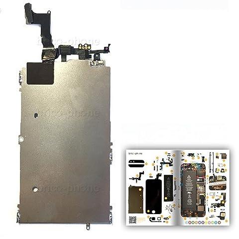Plaquette LCD avec nappe facetime pour iPhone 5S Produit reconditionné avec patron papier d'aide au montage