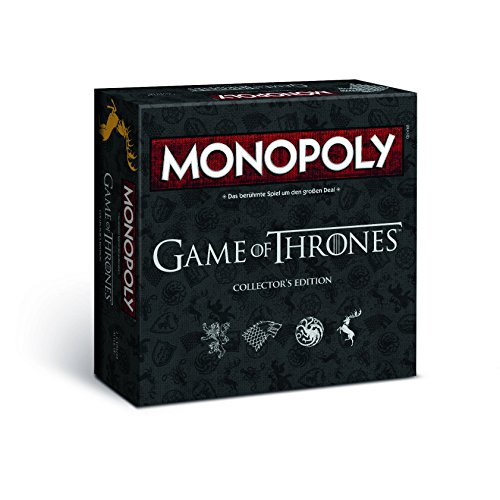Winning Moves MONOPOLY Game of Thrones Collector's Edition – Das Spiel um Westeros