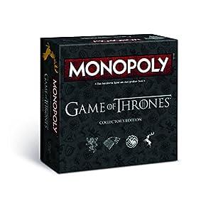 Winning Moves Monopoly Game of Thrones Adultos Simulación económica - Juego de Tablero (Simulación económica, Adultos, 18 año(s), Alemán, Alemán, 60 Pieza(s))