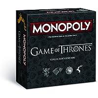 MONOPOLY Game of Thrones Collector's Edition – Das Spiel um Westeros | Gesellschaftsspiel | Familienspiel | Brettspiel |