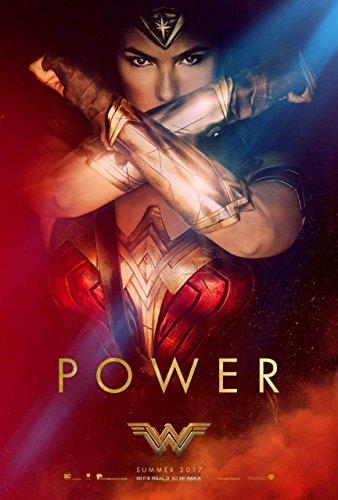 Wonder Woman Original Filmplakat (Gal Gadot) Power Gauntlets Style C Original-Kinoplakat (69Cm X 102Cm) Dc Gauntlet