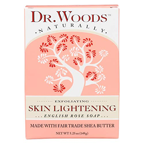 Dr. Woods Bar Soap Skin Lightening English Rose, 5.25 Ounce by Dr. Woods -