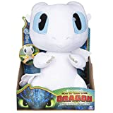 DreamWorks Dragons Squeeze & Growl Lightfury 10-inch Plush with sounds