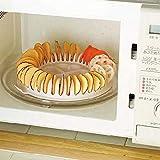 UniqueLow Kalorien Mikrowelle Fat Free Kartoffelchip-Hersteller Küchen Bakeware Werkzeuge Backformen & Pfannen Chips Gestell