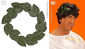 GREEN LAUREL WREATH - ROMAN FANCY DRESS (accesorio de disfraz)