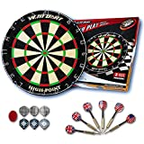 Solid Success Sisal Dartboard Official Professional & Tournament Size Perfect for Playing Steel