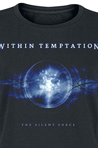 Within Temptation Silent Force Girl-Shirt Schwarz Schwarz