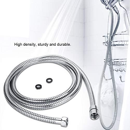Brauseschlauch Extra lange Handbrause Ersatz Edelstahl Metall Robust Anti-Rutsch-Brauseschlauch Bad-Accessoires(3M)