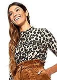LOLALIZA - Shirt with Animal Print - Black - Size L