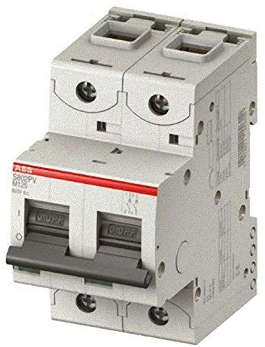 Abb-entrelec s802pv-m32 - Interruptor secciónador bipolar 53mm