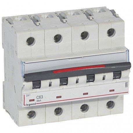 LEGRAND MAGNET /DIF INDUSTRIA 410040 - MAGNET DX3 36KA C 4P 63A