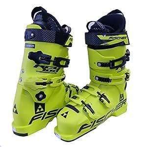 Fischer - FISCHER - Chaussure de Ski - RC4 100 THERMOSHAPE Jaune - taille mondopoint: 25.5