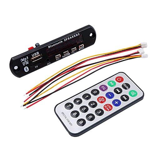 Chen Rui™ Bluetooth 12V Audio Module Wireless USB TF Radio
